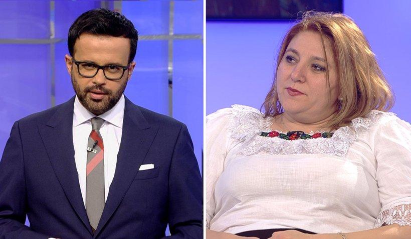 """Mihai Gâdea şi Diana Şoşoacă, dialog incendiar la Antena 3: """"Vă opresc microfonul"""" vs. """"Am avut parte de un abuz psiho-emoţional"""""""