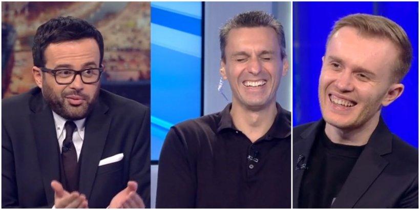 Diana Şoşoacă, Raed Arafat, Klaus Iohannis, Dana Budeanu, parodiați în direct de comediantul Ionuț Rusu! Ce personaje a imitat Mihai Gâdea