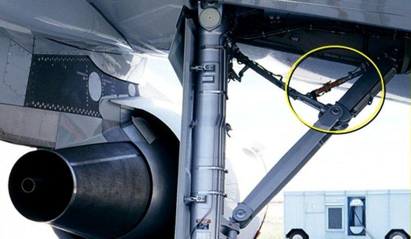 Așa arată locul impactului cu un stol de păsări care a lovit un avion la aterizare pe aeroportul din Cluj-Napoca