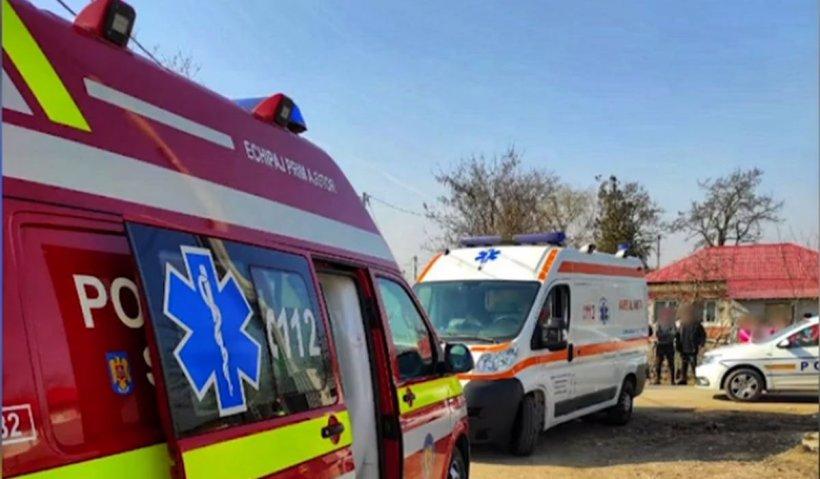 O mamă și copilul său de 9 luni au fost spulberați pe stradă, în Giurgiu, de un șofer vitezoman. A fost chemat elicopterul SMURD