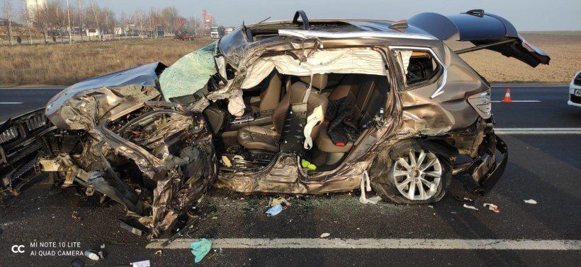 Plan roşu de intervenţie la un accident cumplit cu 10 victime în Călugăreni, Giurgiu