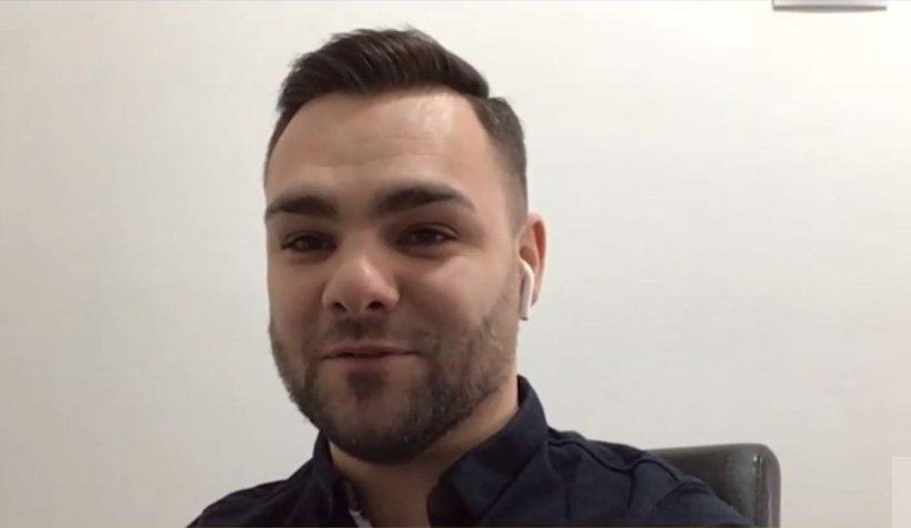 Andrei Scrab, pacientul fără simptome de COVID care a stat şase săptămâni în spital
