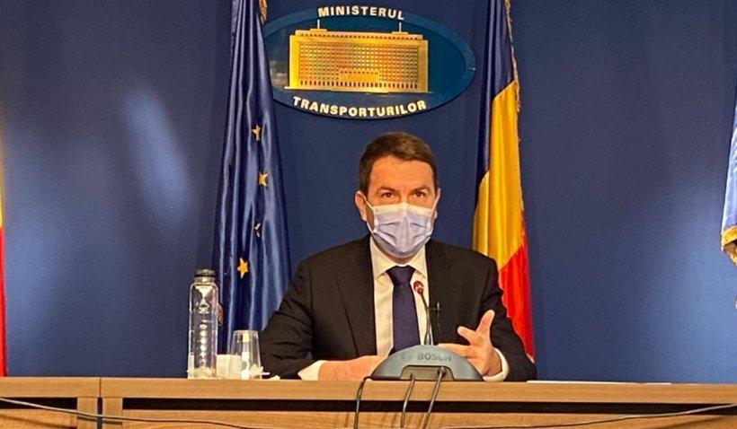 Cătălin Drulă, ministrul Transporturilor, a anunţat ce proiecte se vor realiza în 2021