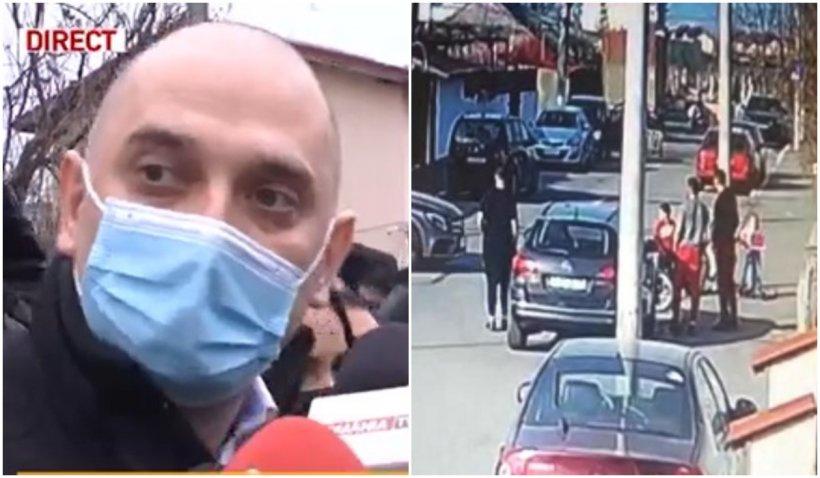 Revoltă la locul accidentului din cartierul Andronache: Primarul s-a dus la locul tragediei, iar oamenii au izbucnit!