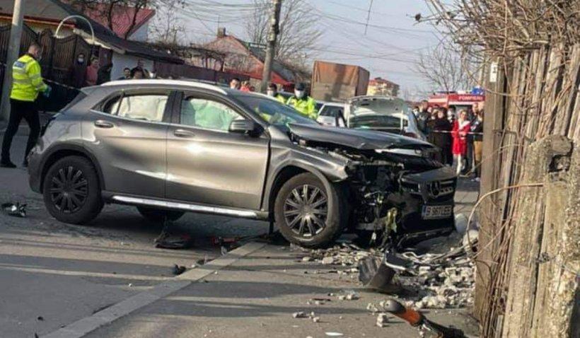Șoferița care a ucis cele două fete urcase beată la volan! Noi detalii cutremurătoare ale accidentului din cartierul Andronache din București