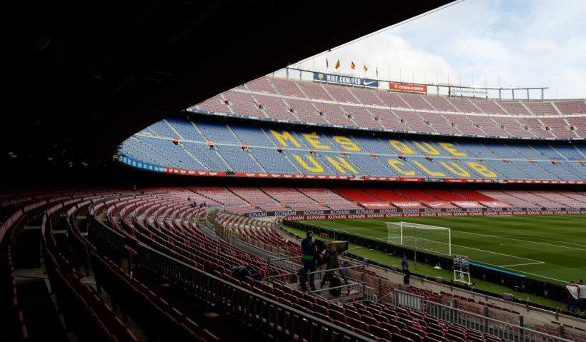 Arestări spectaculoase la FC Barcelona. Poliţiştii au percheziţionat stadionul grupării şi i-au ridicat pe şefii clubului