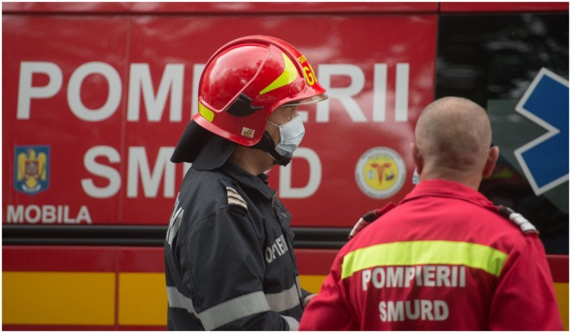 Una din victimele incendiului de la hala petrolieră din Prahova va fi transferată în Belgia. Al doilea pacient va fi transferat la AKH Viena