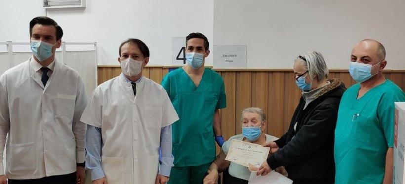 Cine este persoana cu numărul un milion în campania de vaccinare din România