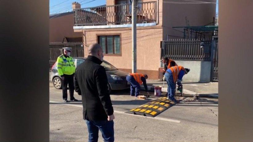 Câte limitatoare de viteză au fost montate după drama din cartierul Andronache