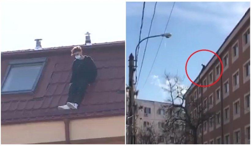 Tânărul din București care s-a aruncat în gol de pe un cămin era antrenor de fitness și abandonase ASE-ul