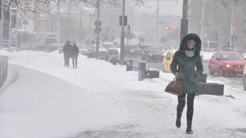 Se întorc ninsorile! Prognoza METEO 5 martie 2021