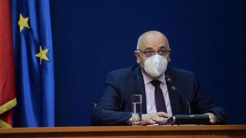 România se luptă cu valul trei al pandemiei. Raed Arafat: ''Nu avem de gând să ajungem la o închidere totală''