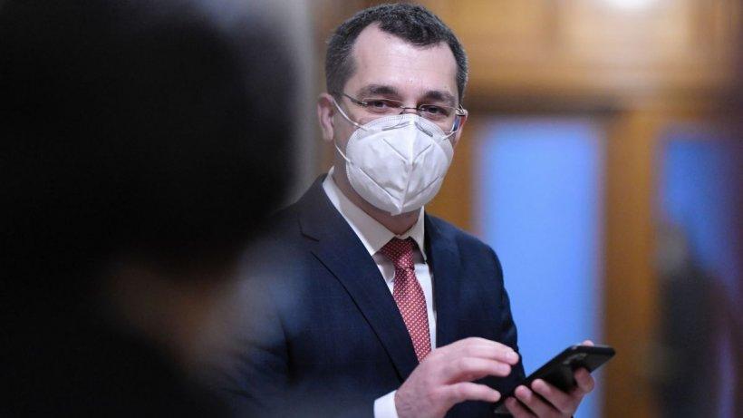 Vlad Voiculescu: Nu există niciun conflict între mine și premierul Florin Cîțu