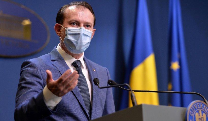Florin Cîţu: Nu există niciun scenariu în care România intră în lockdown de Paște