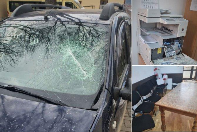 Șeful Ocolului Silvic Breaza,Suceava, bătut în birou
