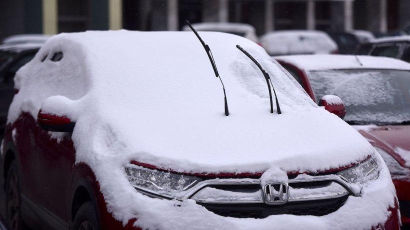 Vreme rece și ninsori în București