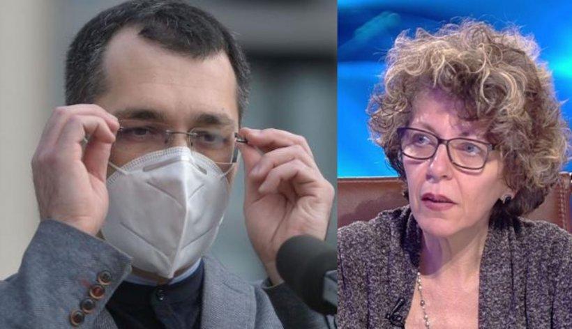 """Adina Anghelescu: Vlad Voiculescu a luat un document """"Strict secret"""" emis de SRI"""