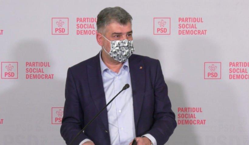 Marcel Ciolacu: Am cunoscut un producător român tânăr cu capacitate de 60 milioane de măști medicale pe lună. Nimeni de la Guvern nu i-a contactat
