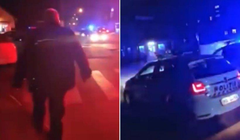 Poliţist amendat după ce i-a interzis unui bărbat să filmeze pe stradă, în Sighetu Marmaţiei