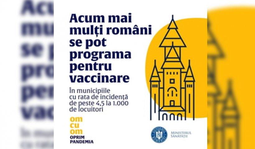 Biserica reacționează după ce Catedrala din Timișoara apare fără cruci pe un afiș despre vaccinare al Ministerului Sănătății