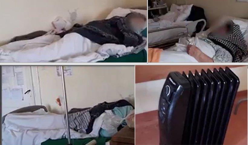 """O pacientă de la ATI Arad, despre frigul din saloane: """"Mă simt ca la morgă. Sunt bătrâni aici care mor de frig şi nu zic nimic"""""""