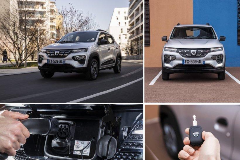Preţurile oficiale pentru Dacia Spring. Modelul, disponibil la precomandă începând din martie