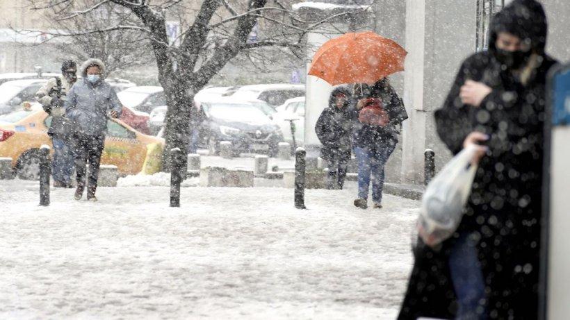 Prognoza meteo 12 martie 2021. Vremea aduce ninsori, viscol și ger