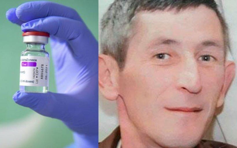 Noi dezvăluiri despre bărbatul de 47 de ani din Târgu-Jiu care a murit brusc după vaccinarea cu AstraZeneca