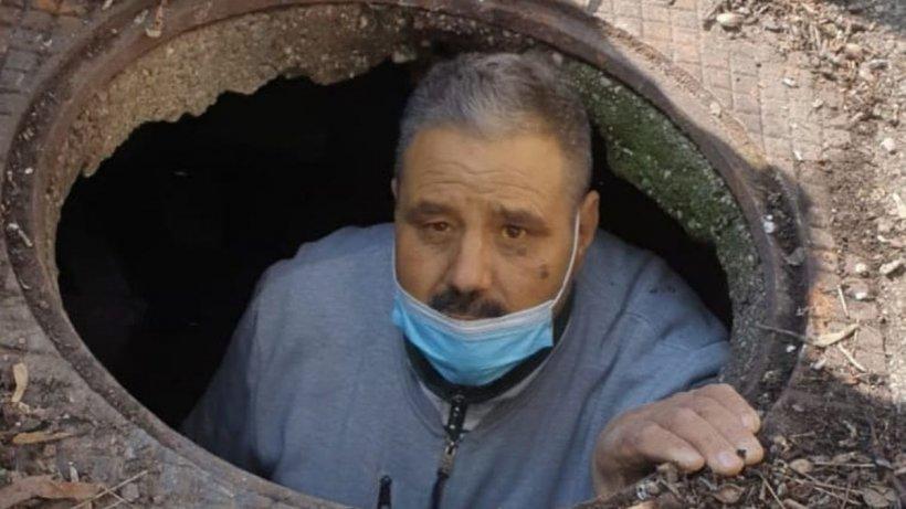 Deținutul condamnat pentru crimă a fost prins chiar în curtea spitalului de unde evadase