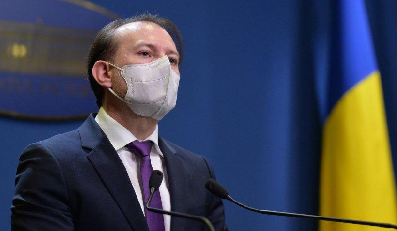 Florin Cîțu, după scandalul serului suspect: Campania de vaccinare trebuie să continue cu toate tipurile de vaccin! Nu s-a schimbat nimic!