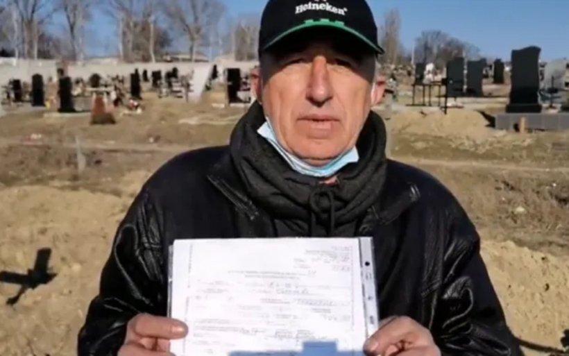 Un moldovean întors din străinătate a aflat că este mort. A mers până și la cimitir și și-a văzut mormântul