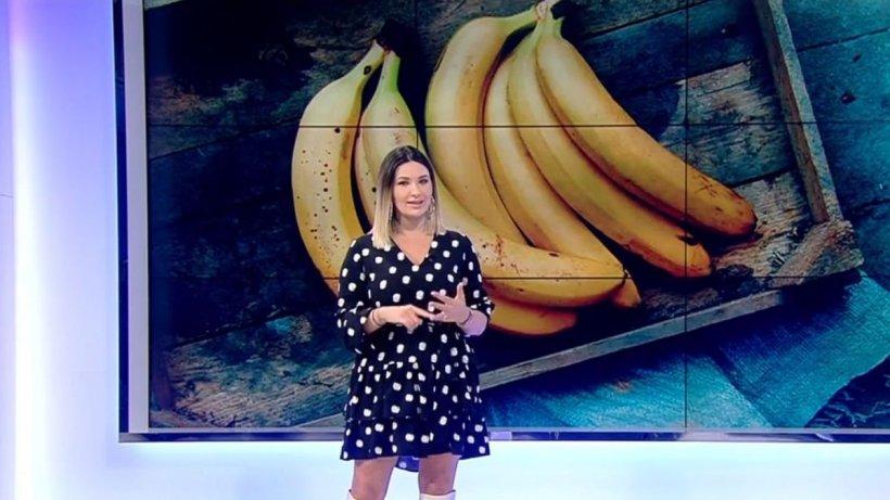 Ela Crăciun vă prezintă trei reţete simple cu banane coapte