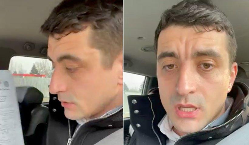 George Simion (AUR), interzis în Republica Moldova. Parlamentarul, oprit la frontieră