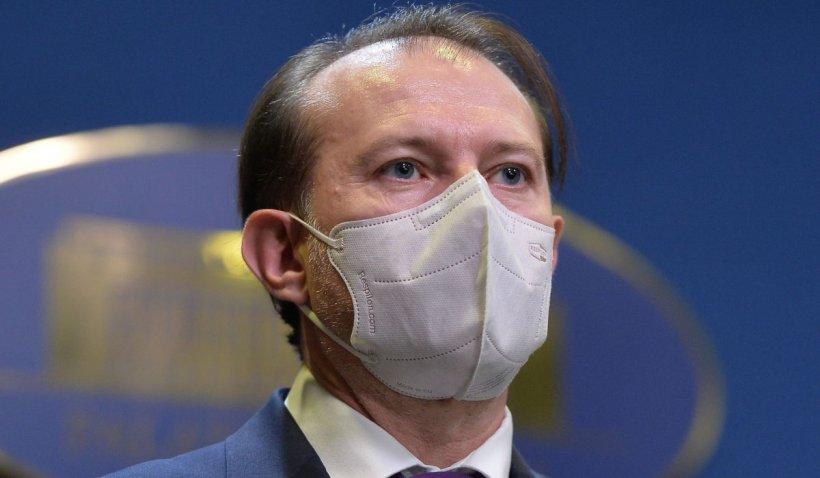 """Premierul Florin Cîţu: """"Etapa a 3-a de vaccinare începe mâine. Vaccinarea nu este obligatorie"""""""