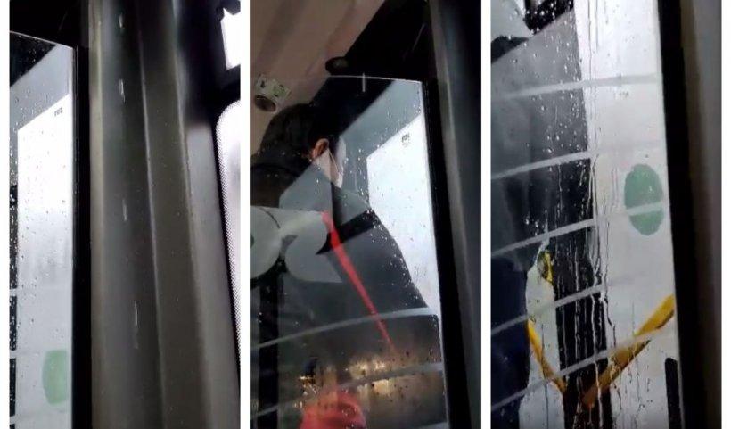 Plouă cu găleata în noile autobuze electrice din Braşov. Achiziţia a costat peste 75 de milioane de lei | VIDEO