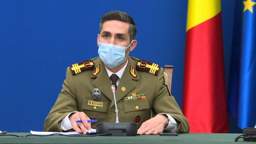 Gheorghiţă anunță că județele cu rată mare de infectare primesc cabinete noi de vaccinare