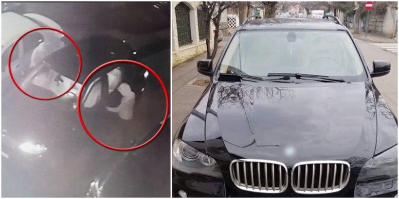 Mașină furată în Capitală! Hoții aveau cheia de rezervă
