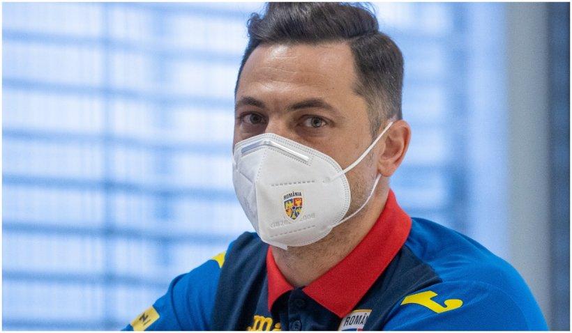 Antrenorul naționalei, Mirel Radoi, testat pozitiv cu Sars-COV-2 chiar înaintea meciului cu Germania