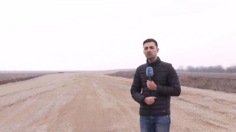 România şantierelor fără sfârşit! 10 ani pentru 3 kilometri de şosea