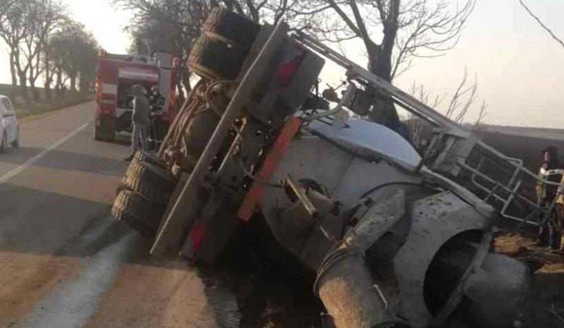 Şofer diagnosticat cu COVID-19, după un grav accident în Botoşani