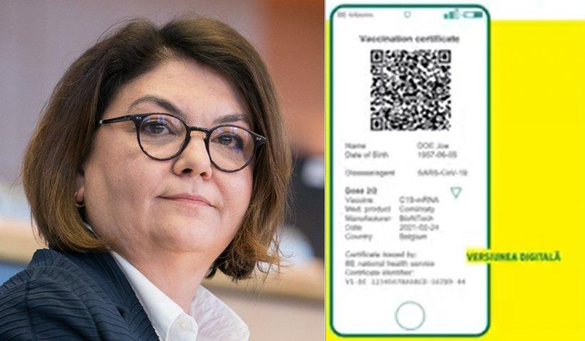 Adina Vălean, detalii exclusive despre certificatul de vaccinare pentru călătorii