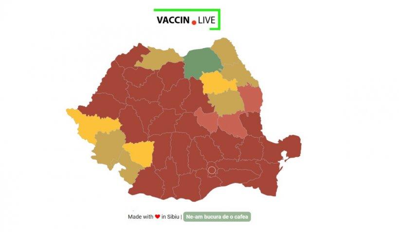 Află ce tip de vaccin folosește fiecare centru și unde mai sunt locuri libere!