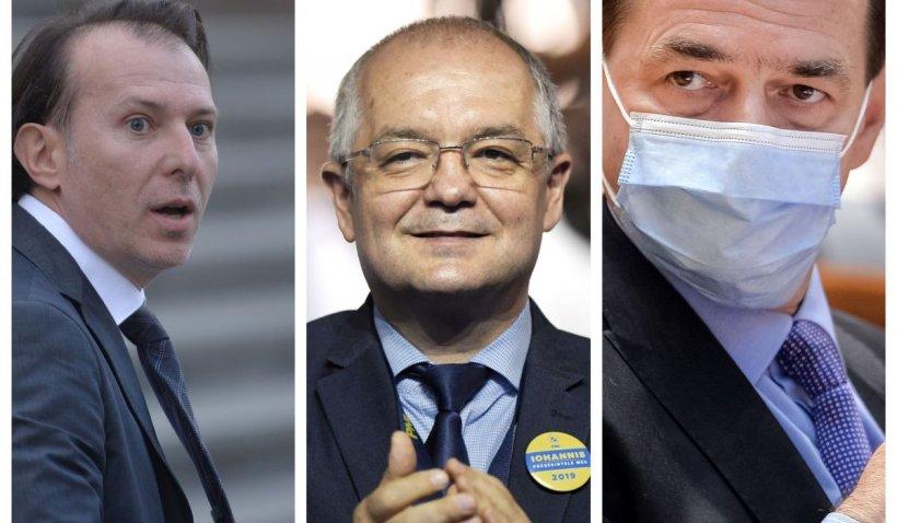 Surse: PNL caută al treilea candidat pentru şefia partidului, în afară de Orban şi Cîţu. Boc, măsurat în sondaje