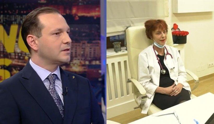 """Dr. Radu Ţincu, despre cazul medicului pneumolog Flavia Groşan: """"Avem nevoie de medicină bazată pe dovezi""""   VIDEO"""