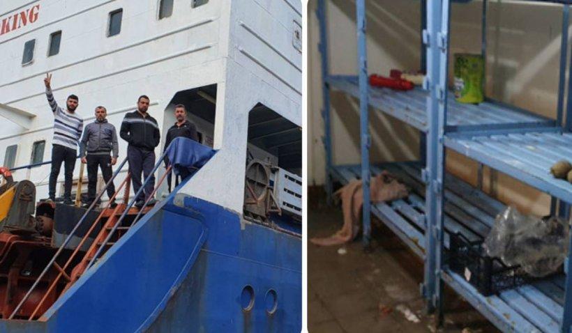 Marinarii abandonați în Portul Constanța au rămas fără provizii. Sunt neplătiți din luna noiembrie