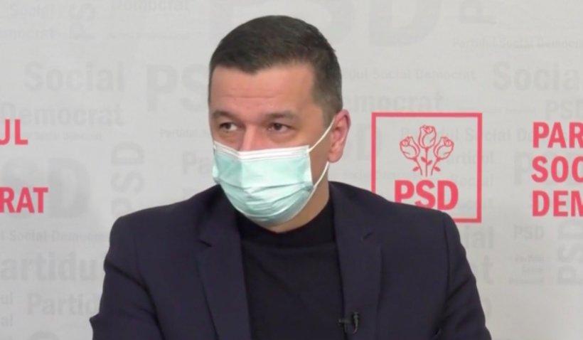 Sorin Grindeanu: Planul Național de Redresare și Reziliență a pornit de la ce au cerut baronii PNL și USR