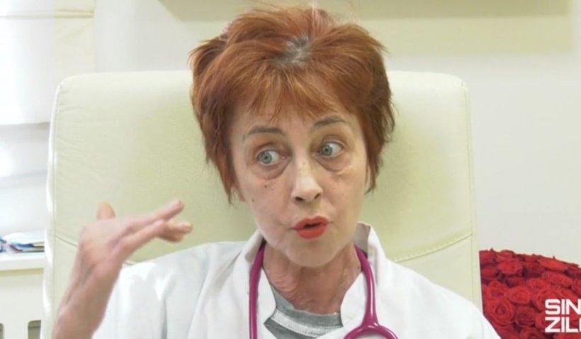 """Dr. Flavia Groșan: """"Eu nu știu cu oxigenul. Eu tratez online, nu văd pacientul, mă iau strict după pulsoximetria pe care mi-o declară ei"""""""