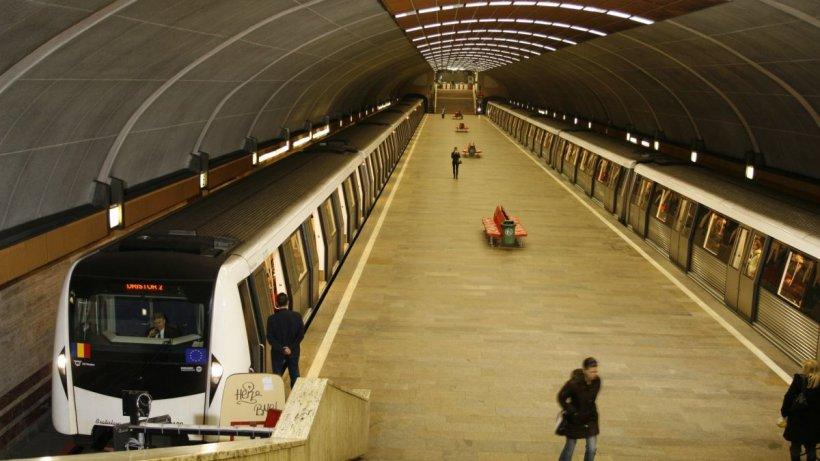 Metrorex anunță că bucureștenii vor aștepta ceva mai mult sosirea trenurilor în stații