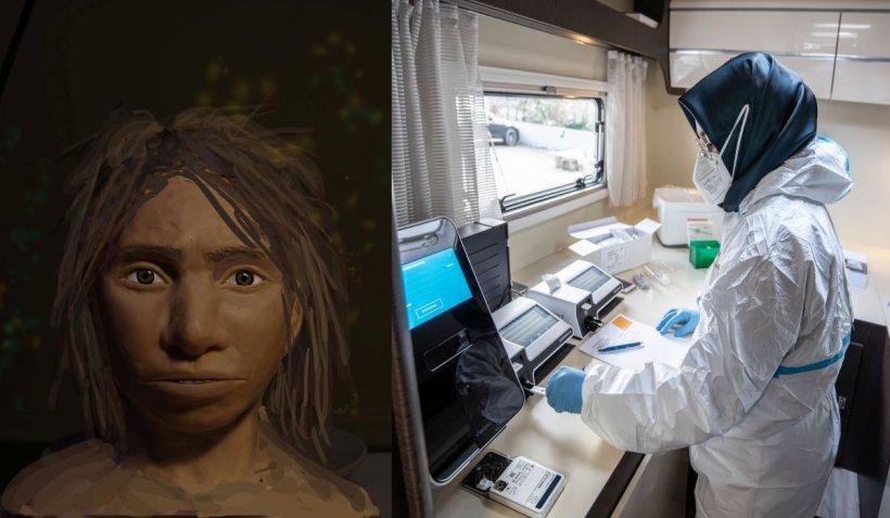 O genă moştenită de la Omul de Neanderthal ajută jumătate din populaţia non-africană a lumii să nu ajungă la ATI după infectarea cu COVID