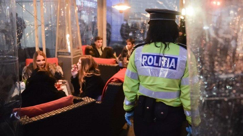 Imagini de la controalele ample făcute de poliţişti şi jandarmi înainte de aplicarea noilor restricţii